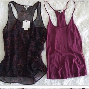Joie Tops - Joie Double Layer Tank S worn once