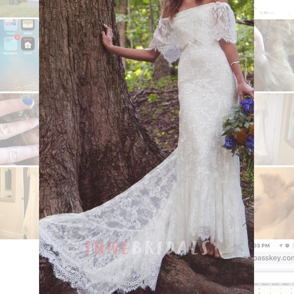 June Bridals Dresses Bohemian Style Wedding Dress Poshmark