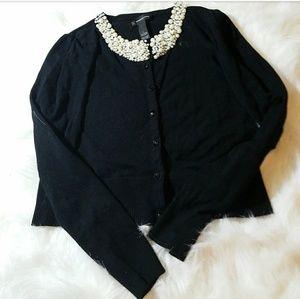 INC International Concepts Sweaters - Beaded Cardigan