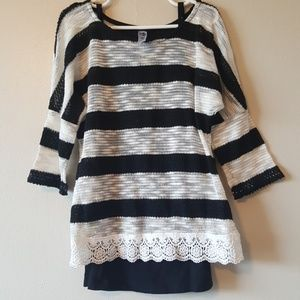 Beautees Other - Girls striped top