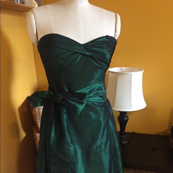 Emerald Green Party Dress