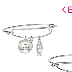 Avon Precious Charms Bracelet - Walks With Me