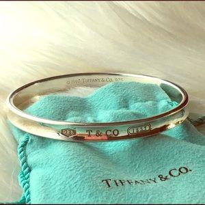 Tiffany & Co. Jewelry - Tiffany & Co. Beveled Bangle Bracelet