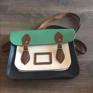 The Cambridge Satchel Company Handbags - 💥NEW!💥 Teal & Navy Cambridge Satchel
