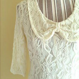 Numph Dresses & Skirts - Boutique Lace Dress!