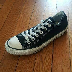 Converse Shoes - CONVERSE CHUCK TAYLOR BLACK SNEAKERS 7