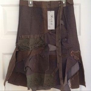 SUPER SALENEW ITEM !!!!   Cute brown skirt