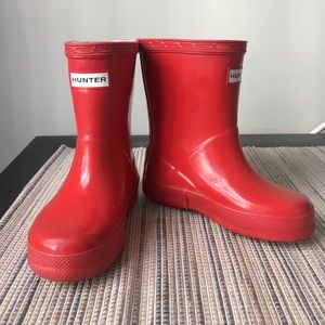 Hunter Other - Red toddler hunters boots