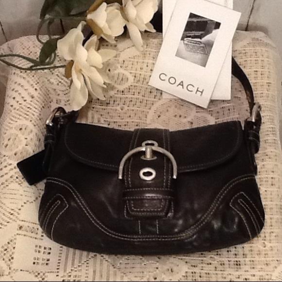 Coach Handbags - ⚡️FLASH SALE⚡️NWOT Coach Leather SoHo Handbag 💞 fe464b9ddfbe7