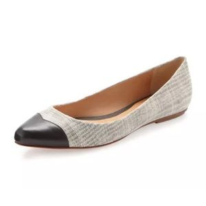 Rebecca Minkoff Shoes - {Rebecca Minkoff} Irma Cap Toe Flats Desert Grey