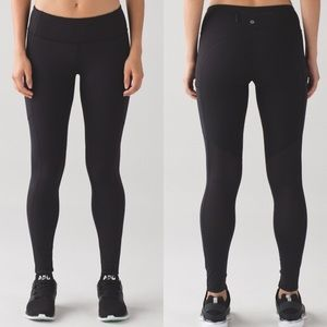 lululemon athletica Pants - Lululemon Speed Tight Black Athletic Legging Pant