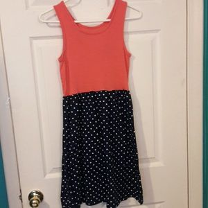 Faded Glory Other - POLKA DOT TANK DRESS