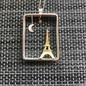 Jewelry - Night in Paris Charm Necklace Sterling Silver