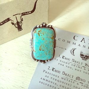Child of Wild Jewelry - Child of Wild Genuine Sterling Turquoise Ring