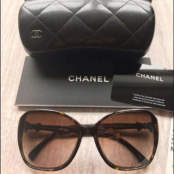 9368c63f53 CHANEL Accessories - CHANEL Bow tie Sunglasses