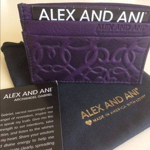 Alex And Ani Accessories - Alex and Ani Leather card case