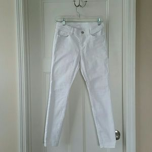 LOFT Denim - Loft White Super Skinny Jeans
