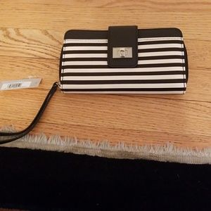 Kenneth Cole Reaction Handbags - Kenneth Cole Reaction striped wristlet wallet NWT