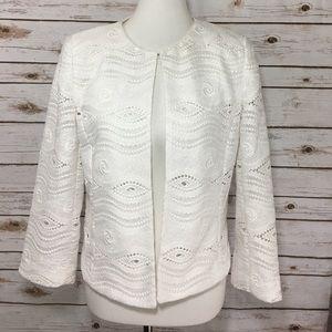 Tahari Jackets & Blazers - Tahari Larry S Levine White Jacket
