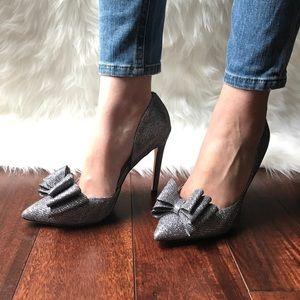 7b465629c21 Betsey Johnson Shoes - NIB Betsey Johnson Prince d Orsay Pewter Pumps