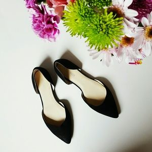 Nine West Shoes - Nine West | sueded black flats | 8.5