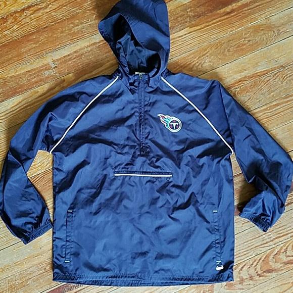 premium selection 1d91e 66841 Tennessee Titans NFL rain pullover hoodie womens M