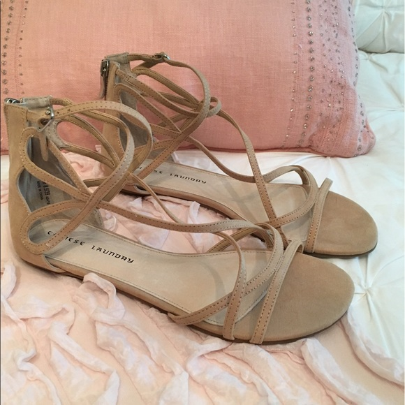 f06ec9b2d7f1 Chinese Laundry Penny Sandals in Sand