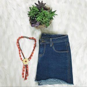 Hudson Jeans Dresses & Skirts - 🌸☀️vintage hudson jeans denim miniskirt☀️🌸