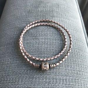Pandora Jewelry - Champagne Pandora Double Wrap Bracelet
