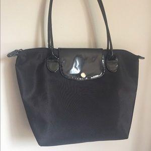 Longchamp Handbags - Black nylon tote