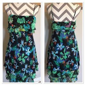 Thalia Sodi Dresses & Skirts - Black Floral Sundress