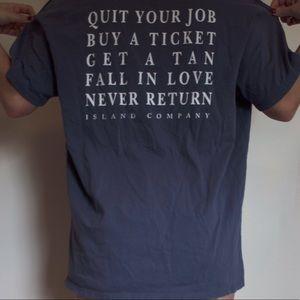 Island Company Tops - Island Company T-shirt