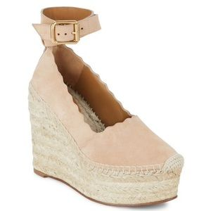 Chloe Shoes - New Chloe Lauren wedge espadrilles EUR sz 38