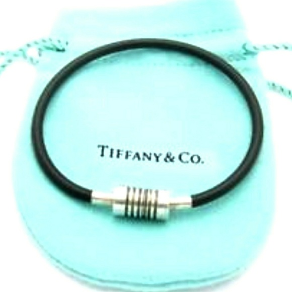 94600d09e Tiffany & Co. Jewelry | Tiffany Picasso Sterling Groove Rubber ...