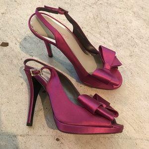 Stuart Weitzman bow stilettos