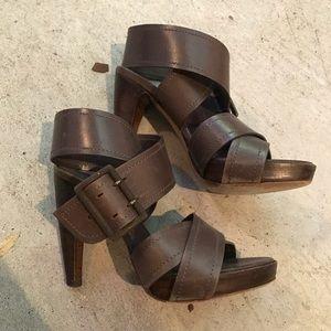 Hugo Boss chunky heels
