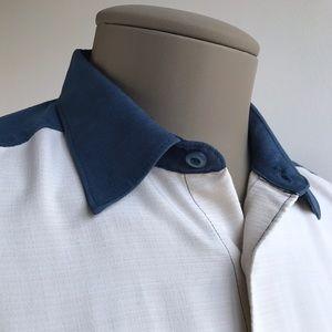 Cubavera Other - CUBAVERA Men's Casual Shirt Short Sleeves Size L