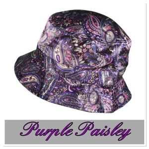 Purple Paisley Bucket Hat