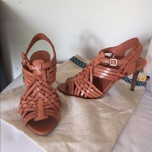 Tory Burch Shoes - Tory Burch woven leather heels