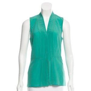 Rachel Zoe Tops - Mint green Rachel Zoe sleeveless silk top