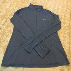 Columbia Tops - Columbia Half Zip Long Sleeve Shirt - Medium