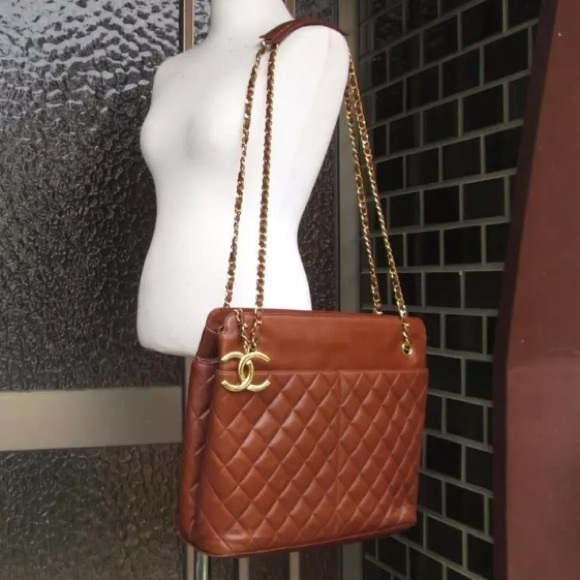 f7ccedb2e2a5c CHANEL Handbags - Chanel Quilted brown XL Shoulder Bag