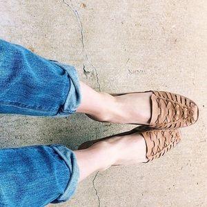 f706cd94d0c6 Nisolo Shoes - Nisolo Ecuador Huarache Sandal in Almond size 7