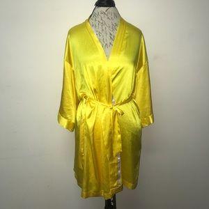 Victoria's Secret Other - Victoria's Secret Yellow Robe