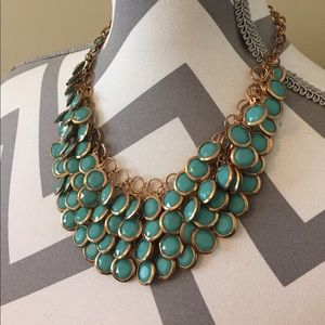 Lily Wang Jewelry - [Lily Wang] turquoise and gold bead necklace
