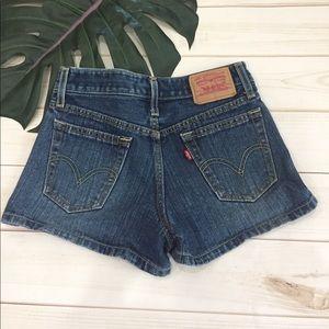 Levi's Pants - 🌱Levi's shorts medium wash-slit sides