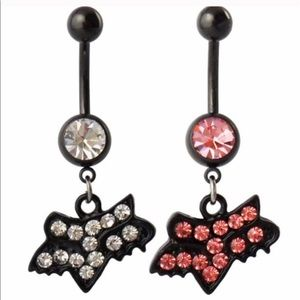 Fox Jewelry Nwt 2 Set Racing Bling Navel Belly Button Ring Poshmark