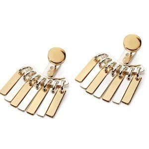 Jenny Bird Jewelry - Jenny Bird Silver + Gold Raya Ear Jackets.