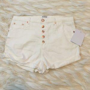 One Teaspoon Pants - One Teaspoon High Waisted Shorts