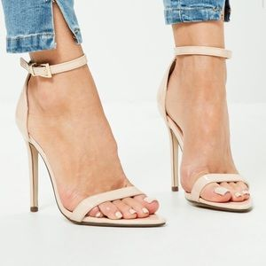 Missguided Shoes - Pointed Toe Barely There Heel
